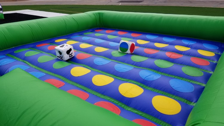 College Park Inflatable Twister Game Rental