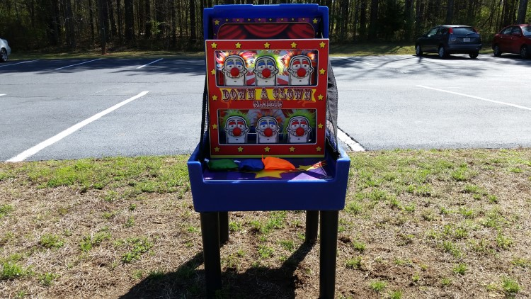 Fairburn Down A Clown Carnival Game Rentals
