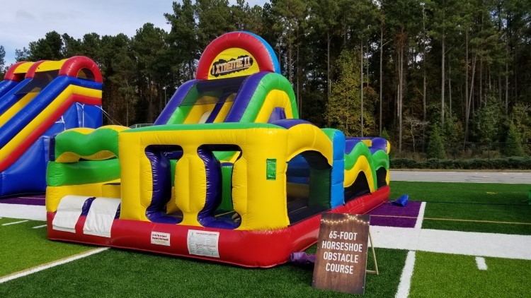 Fayetteville Giant Foot Obstacle Course Rental