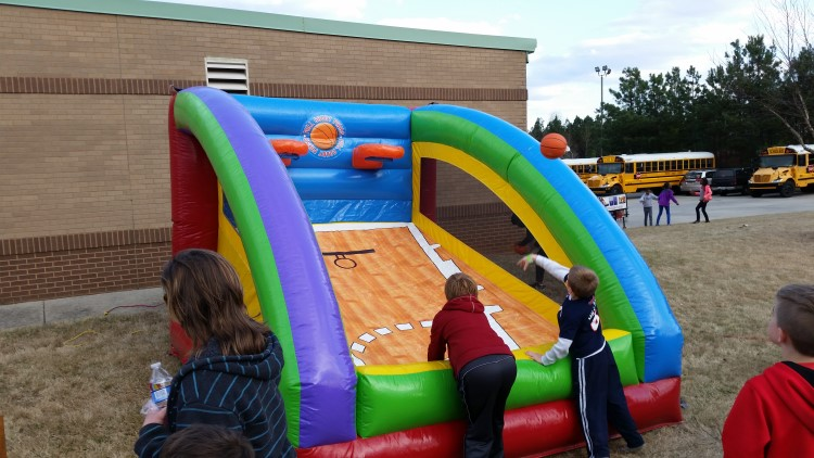 Fayetteville Inflatable  Dual Basketball Game Rental