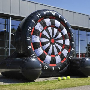 Fayetteville Inflatable Giant Soccer Darts Game