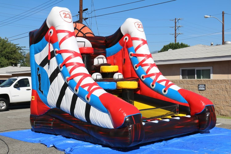 Fayetteville Inflatable Mega Basketball Game Rental