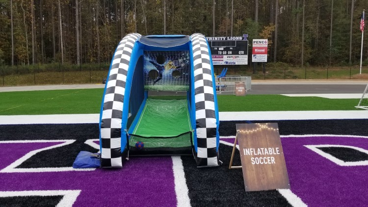 Fayetteville Inflatable Soccer Game