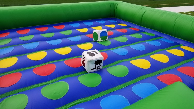 Fayetteville Inflatable Twister Game Rental