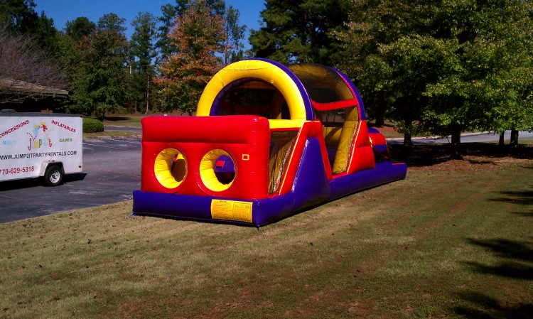 Jonesboro 30 Foot Obstacle Course Rental