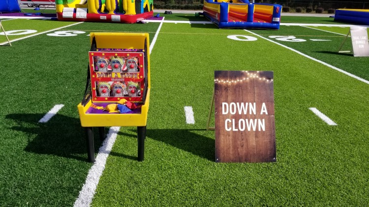 Newnan Down A Clown Carnival Game Rentals