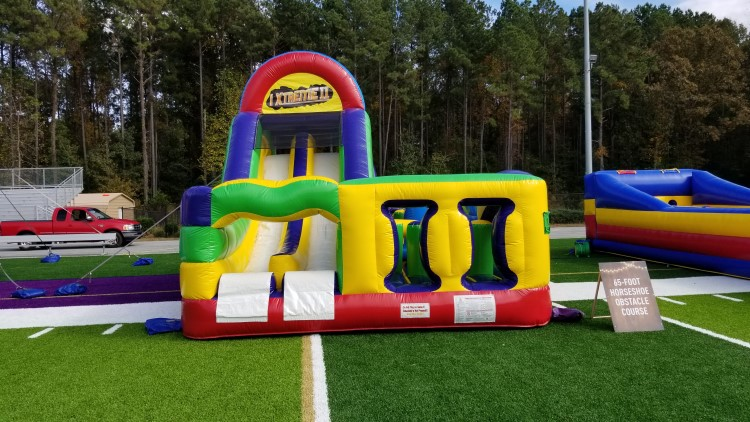 Newnan Giant Foot Obstacle Course Rental