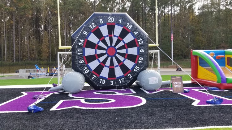 Newnan Inflatable Giant Soccer Darts Game