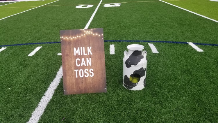 Newnan Milk Can Toss Carnival Game Rental