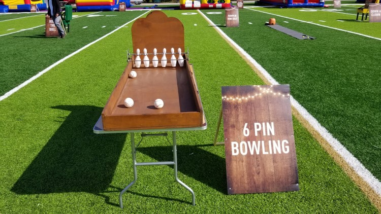 Peachtree City Bowling Carnival Game