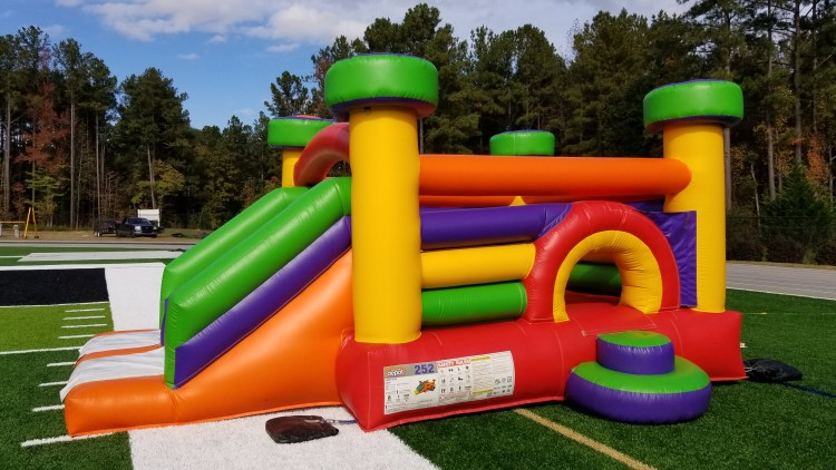 Peachtree City Candy Slide Combo Inflatable