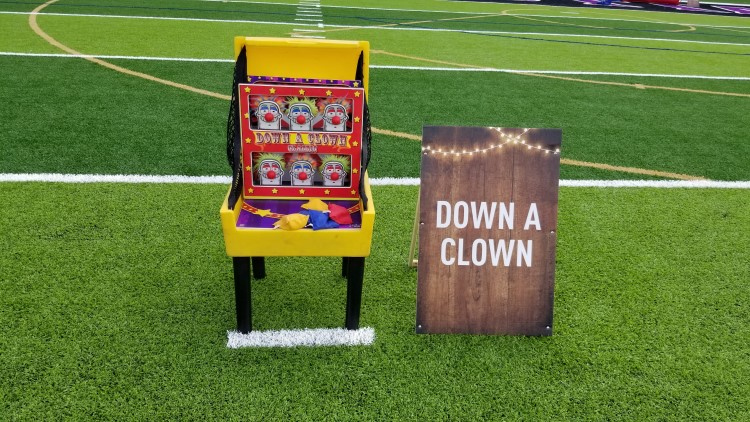 Peachtree City Down A Clown Carnival Game Rentals