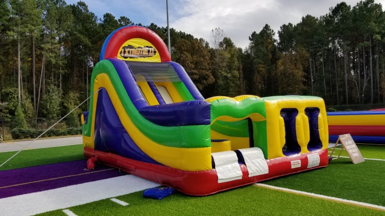 Peachtree City Giant Foot Obstacle Course Rental
