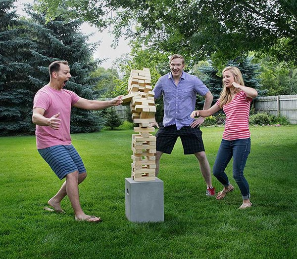 Peachtree City Giant Jenga