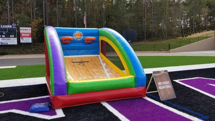 Peachtree City Inflatable  Dual Basketball Game Rental