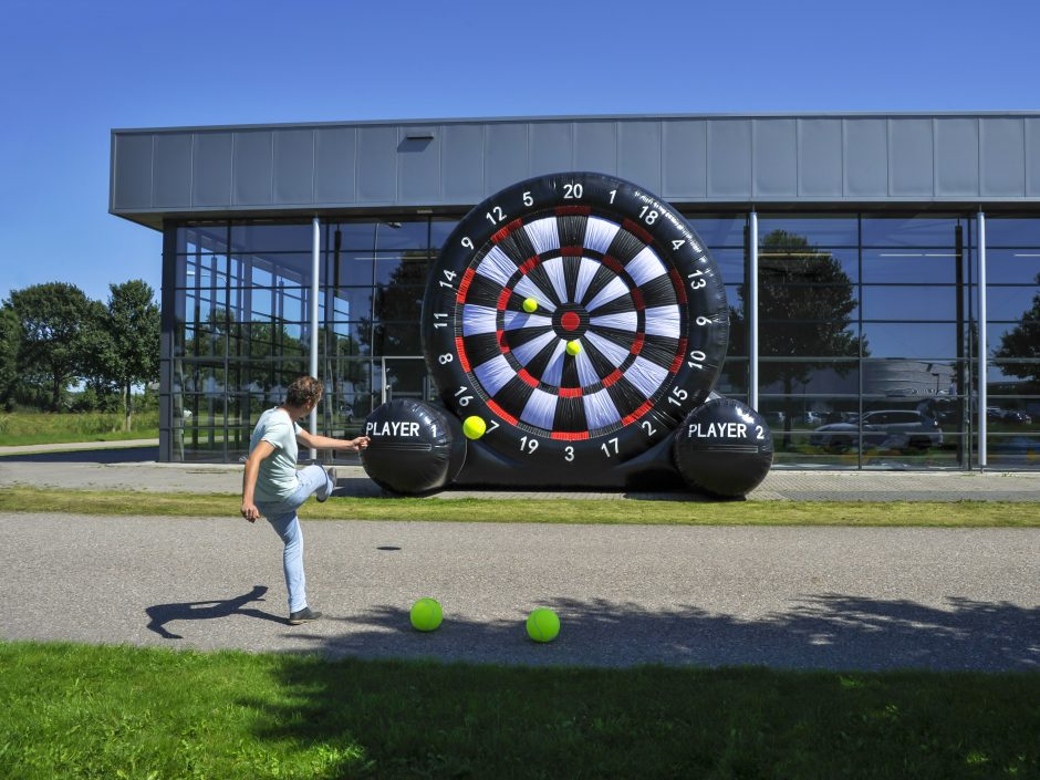 Peachtree City Inflatable Giant Soccer Darts Game