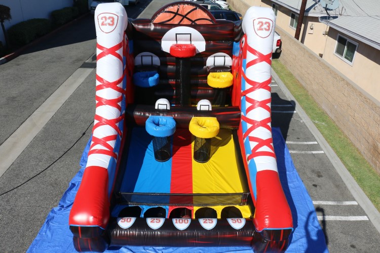 Peachtree City Inflatable Mega Basketball Game Rental