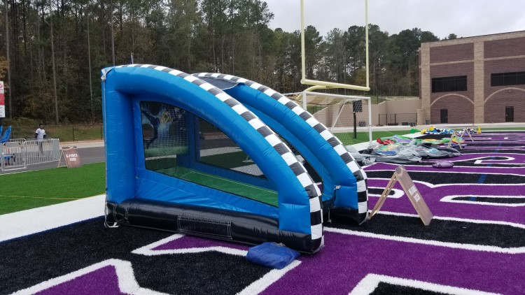 Peachtree City Inflatable Soccer Game
