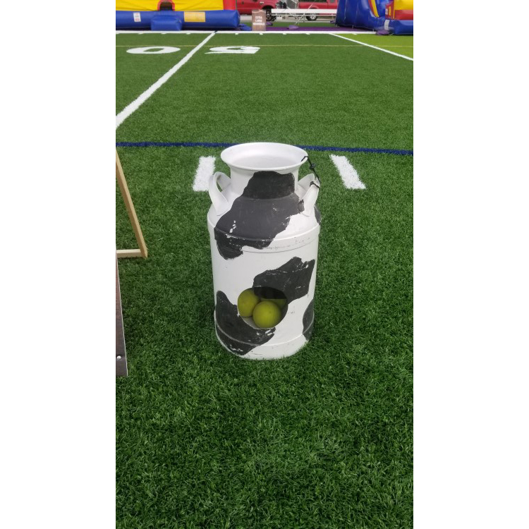 Peachtree City Milk Can Toss Carnival Game Rental
