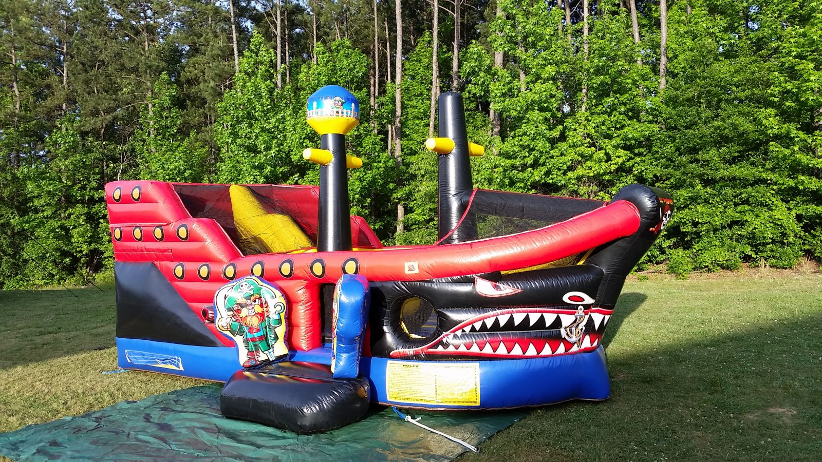 Peachtree City Pirate Ship Combo