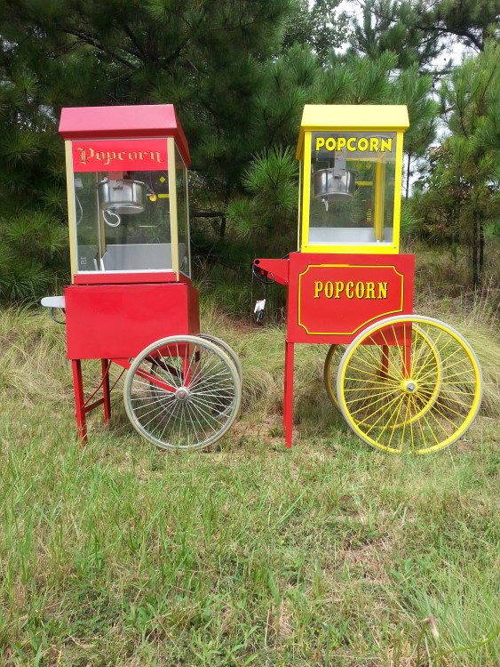Peachtree City Popcorn Machine