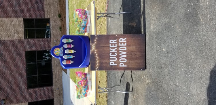 Peachtree City Pucker Powder Concession