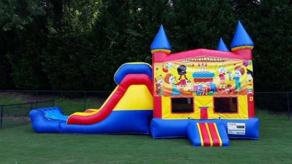 peachtree city combo inflatable rentals