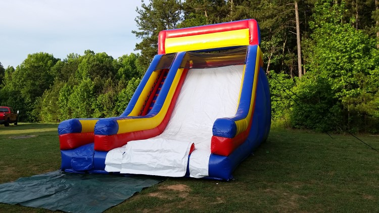 peachtree city inflatable slide rentals