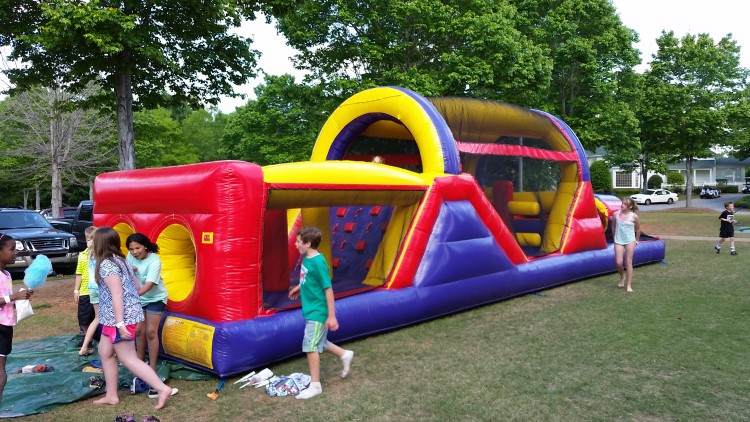 peachtree city inflatables for rent
