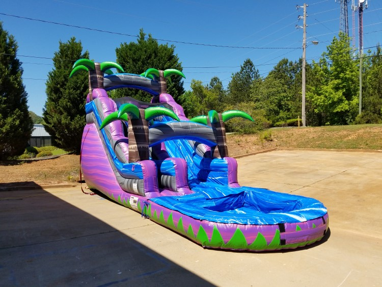 peachtree city water slide rentals