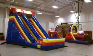 Inflatable Slide and Obstacle Course