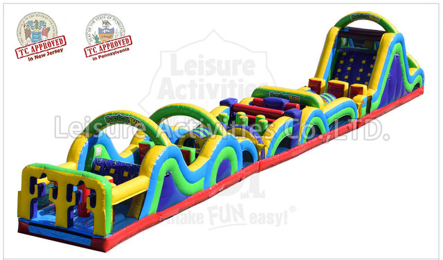 95 Foot Obstacle Course