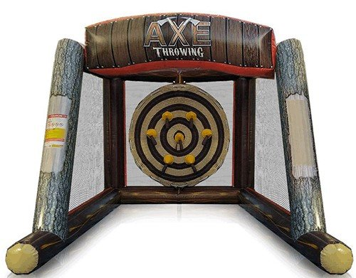 Inflatable Ax Throwing Game