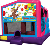 Pink and Purple 4 in 1 Combo - Curious George