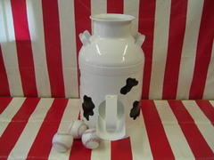 Milk Can Toss Game - Carnival Game