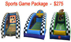 Inflatable Sports Game Package