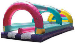 Dual Lane Inflatable Slip and Slide