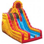 20 Foot Fire and Ice Slide