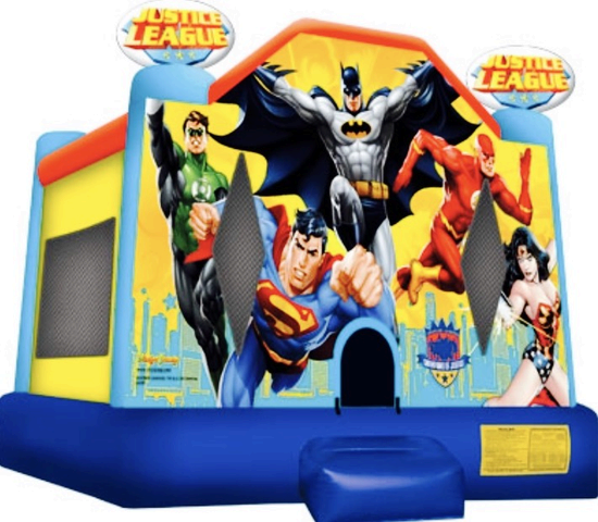 Justice league , For Children Under The Age of 8 years