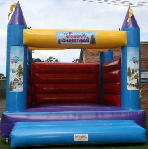 Merry Christmas Jumping Castle (140)