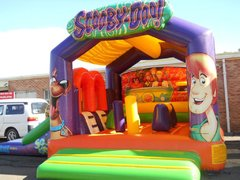 Scooby Doo castle and slide