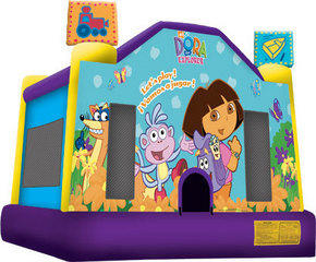 Dora Jumping castle  FOR AGES UP TO 12