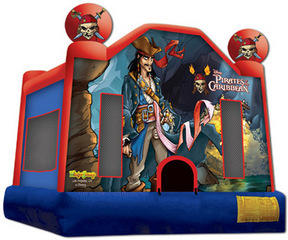 Pirates Of The Caribbean Jumping castle  FOR AGES UP TO 12