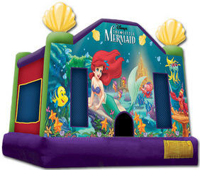 Little Mermaid Jumping castle FOR AGES UP TO 12