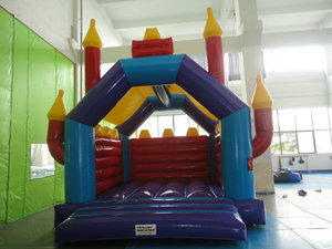 Adult- Kids Euro Jumping Castle