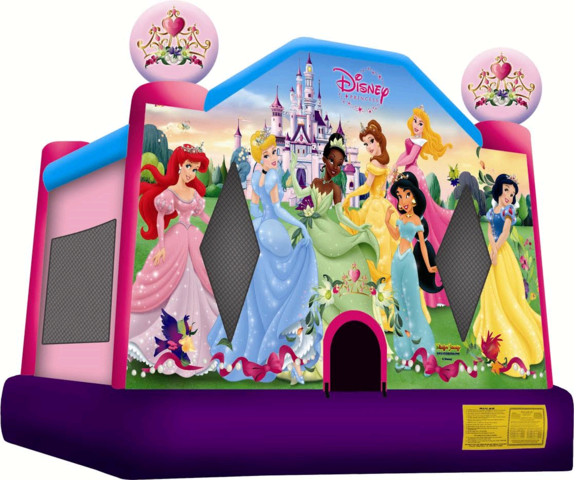 Disney Princess 2  Jumping castle FOR AGES UP TO 12