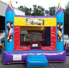 Space Adventure Jumping Castle Adult/Children (AM)