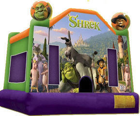 Shrek Jumping castle  FOR AGES UP TO 12