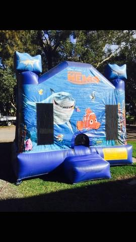 Finding Nemo jumping castle UP TO 12 YEARS IN AGE