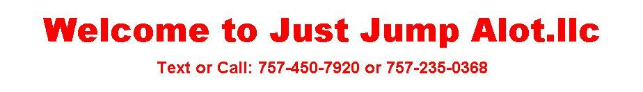 Just Jump Alot Event Rentals Virginia Beach